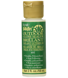 FolkArt Outdoor Sealer Gloss 2 Oz.
