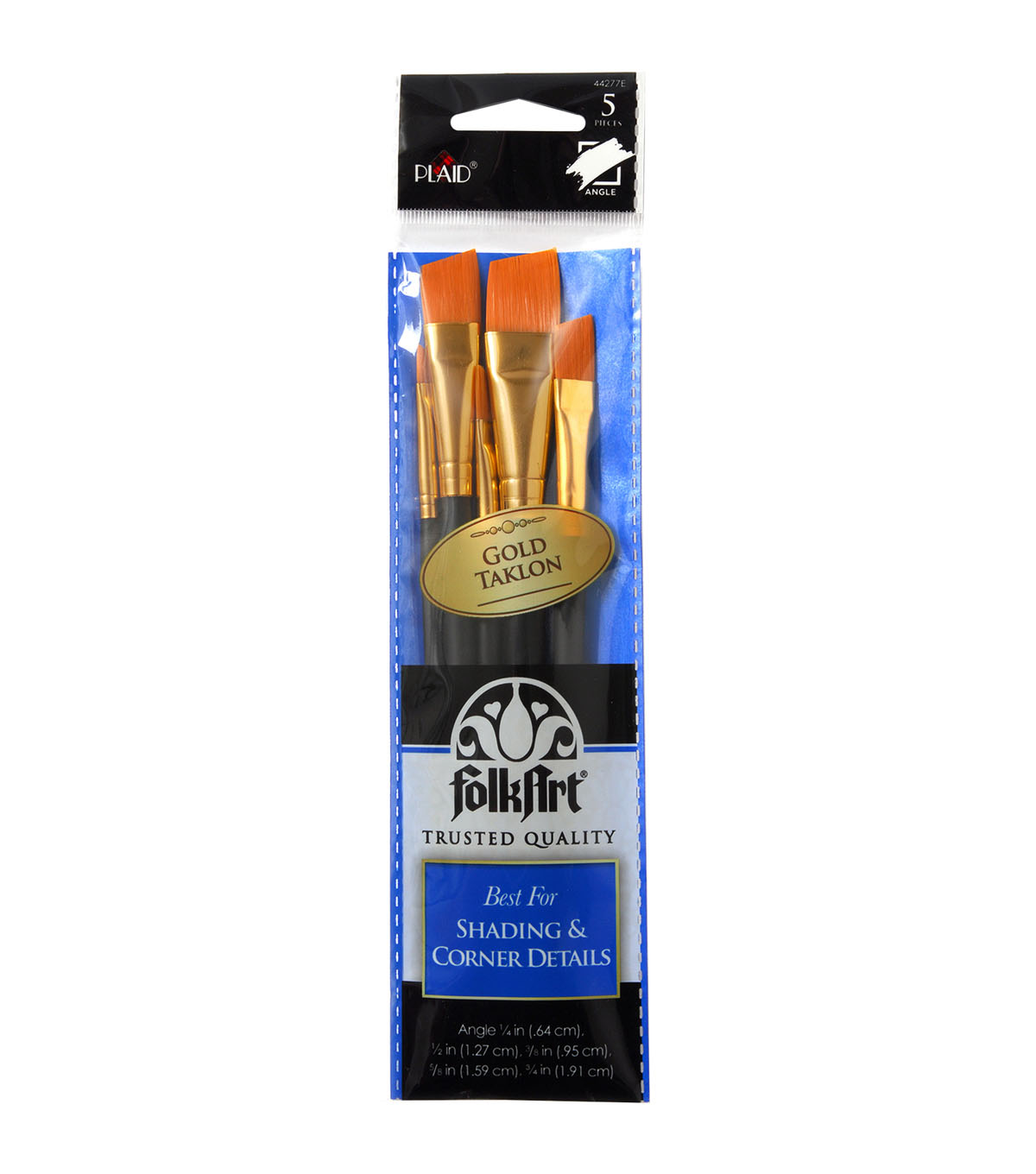 Folkart Angle 5 Pack Brush Set