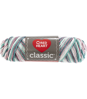 Red Heart 12 pk Classic Yarns-Rambling Rose