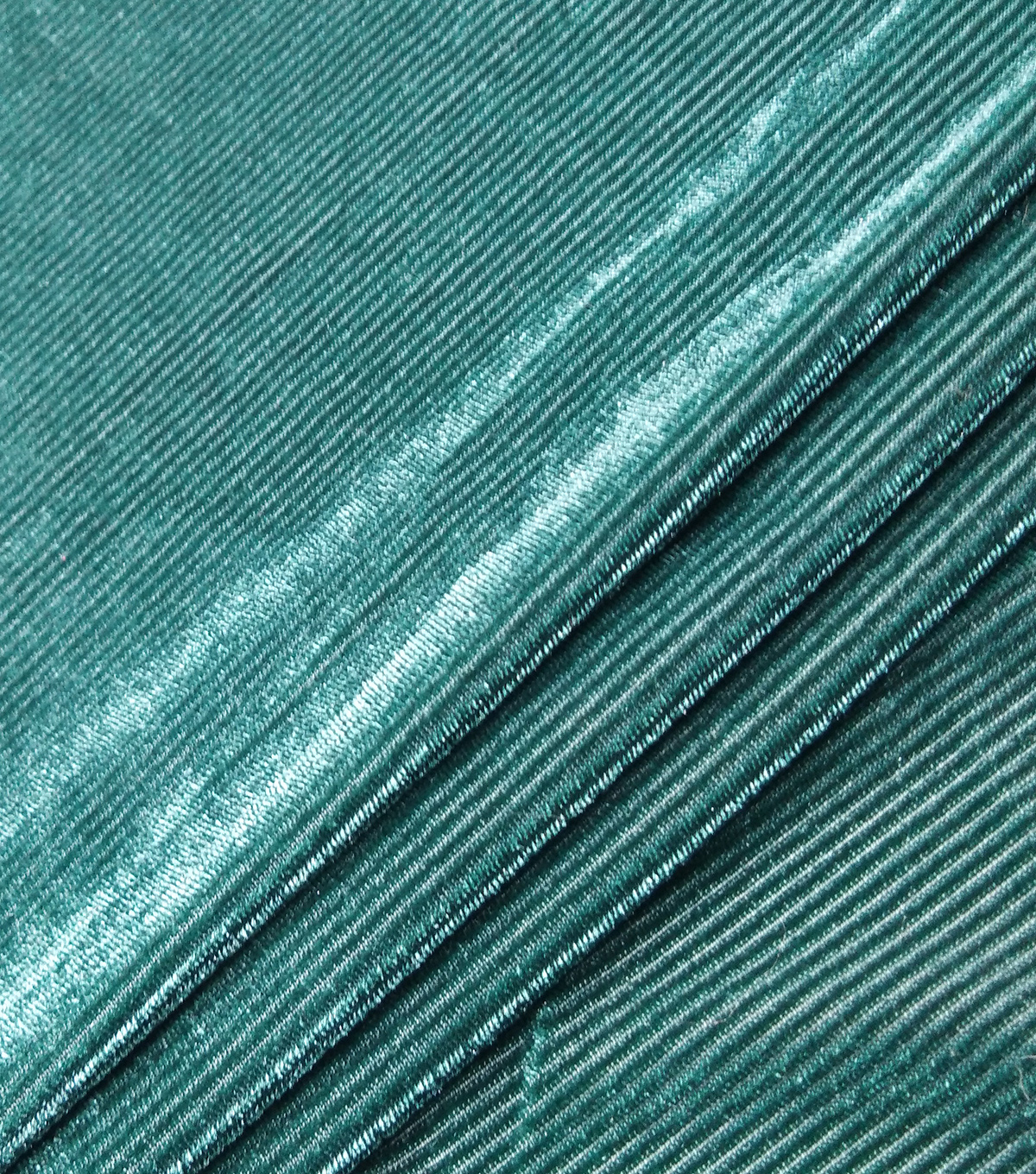 Velvet Burnout Fabric-Botanical Garden Thin Stripes