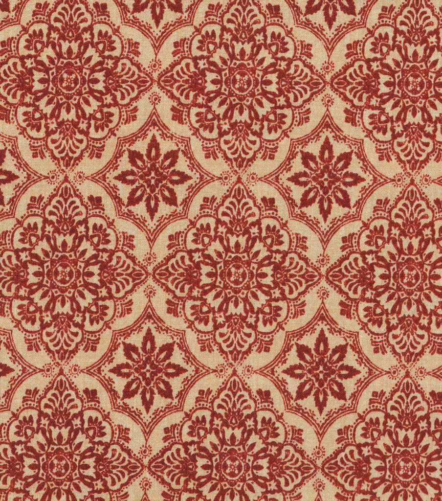 Keepsake Calico Cotton Fabric -Regmini Rust