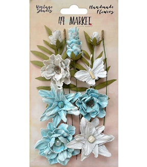 49 And Market Vintage Shades Cluster 13 pk Flowers-Blue