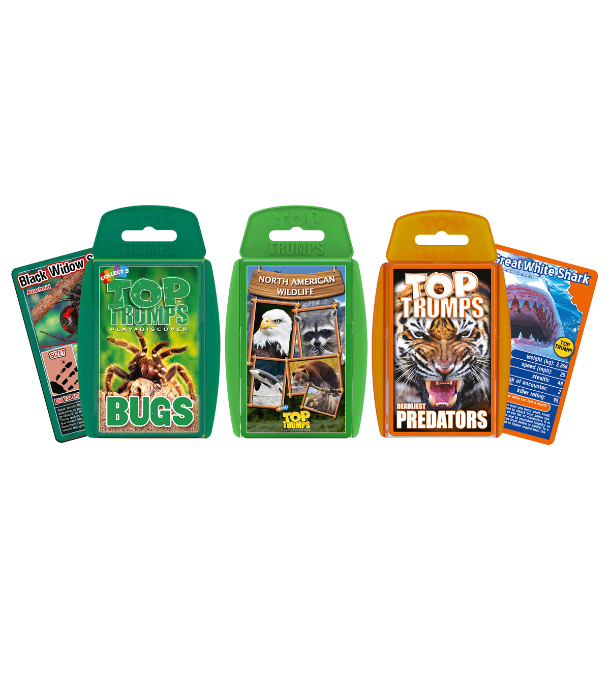 Top Trumps Top Trumps Bundle - Wildlife