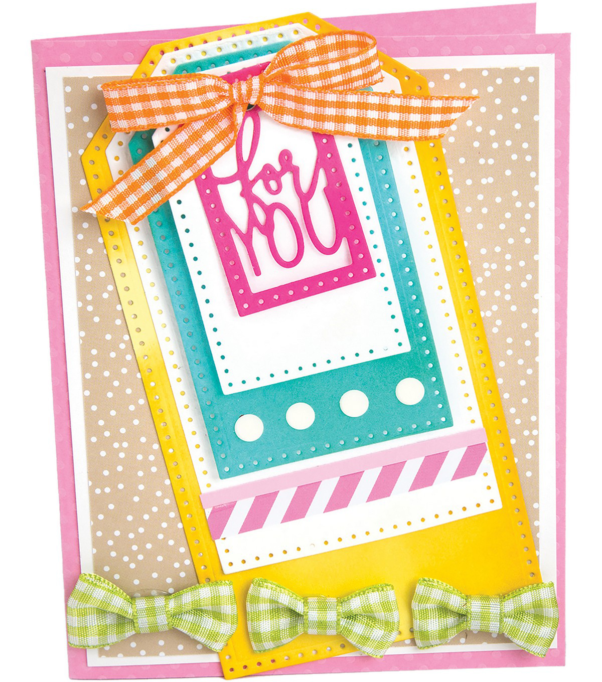 Sizzix Framelits Dies By Stephanie Barnard -Dotted Tags