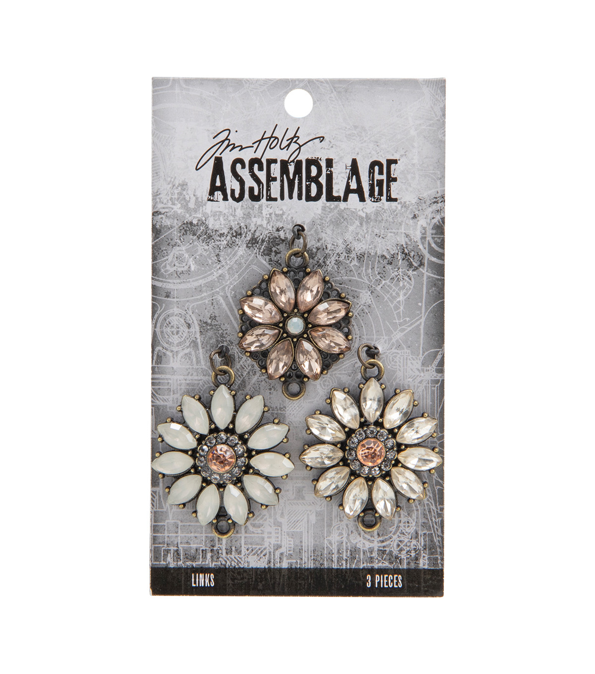 Tim Holtz Assemblage Links-Gemmed Bouquet