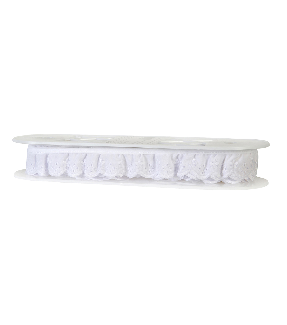 Simplicity Trims-Swiss Eyelet White