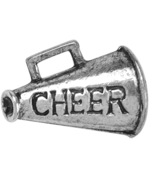 Metal Charms-Cheer 8/pk