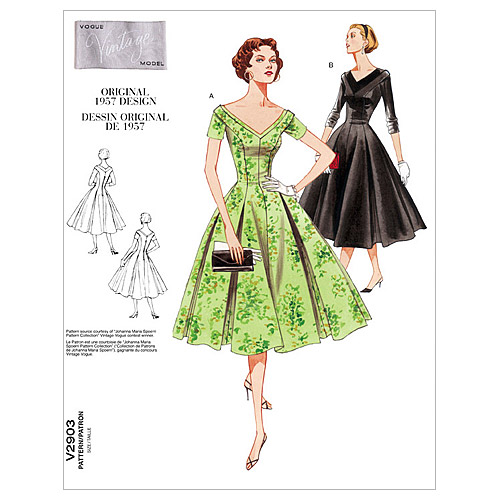 Vogue Patterns Misses Dress-V2903