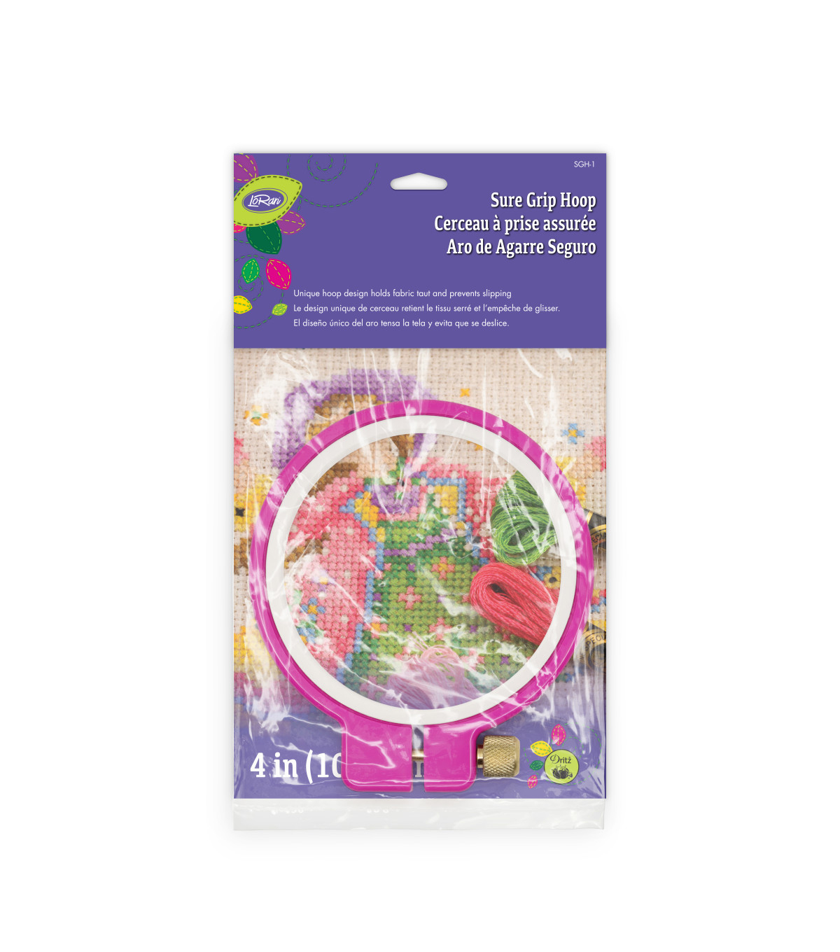 LoRan Sure Grip Hoop 4\u0022