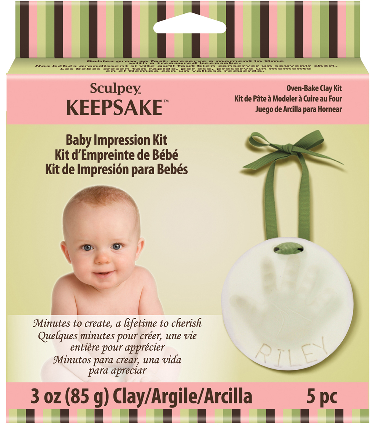 Sculpey Keepsake Baby Impression Kit-
