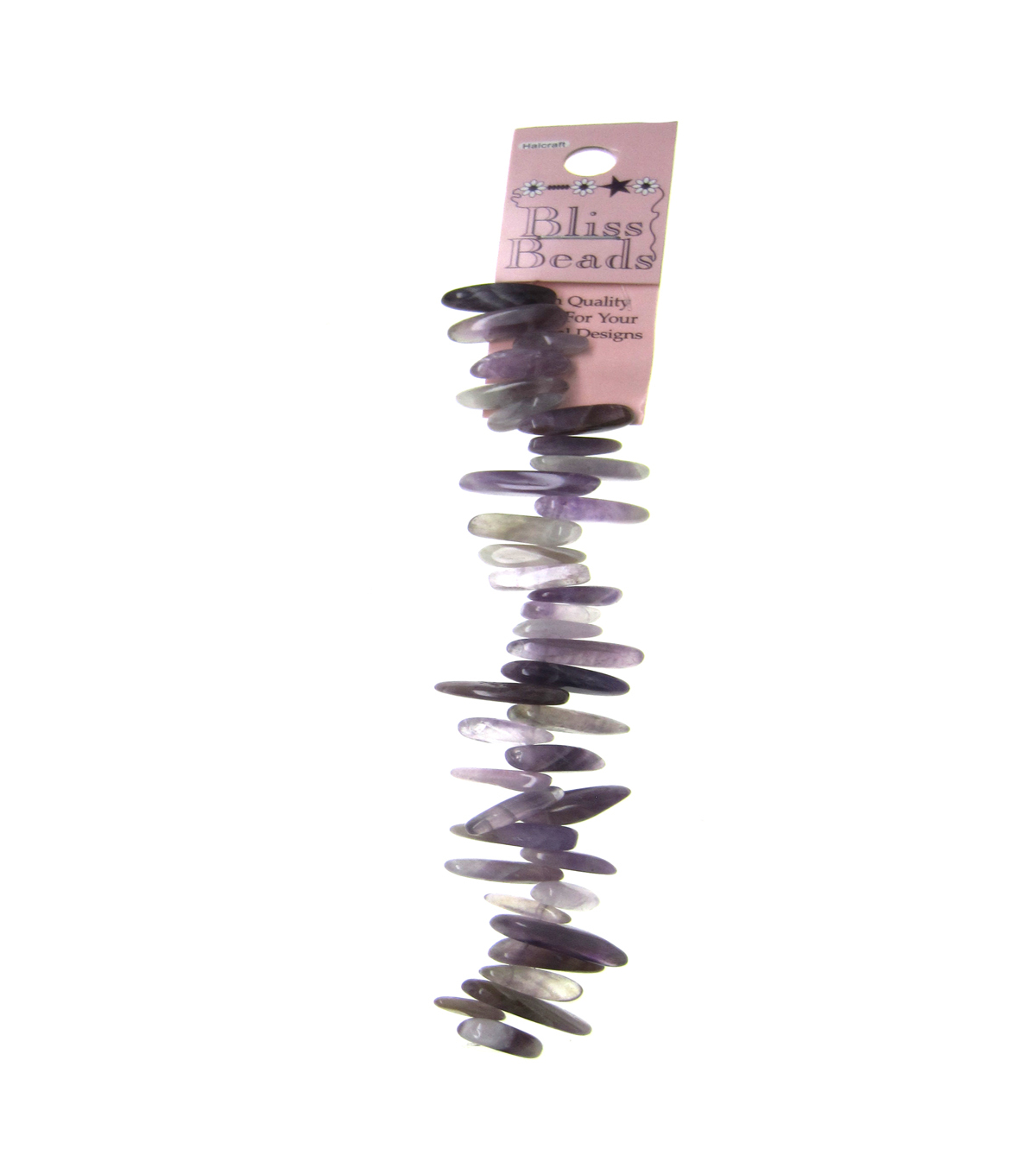 Amethyst Large Teeth Stone Beads