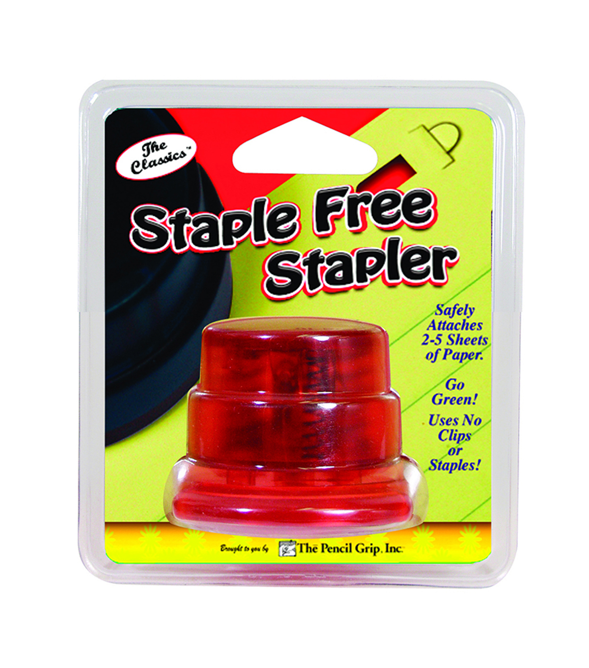 The Pencil Grip Staple Free Stapler, Pack of 6