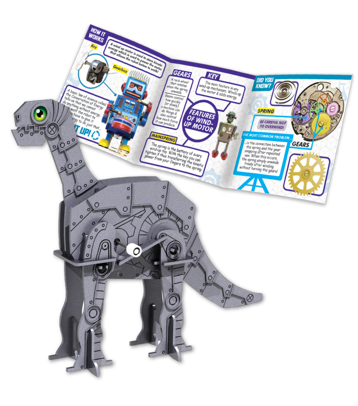 STEM Projects Walking Dinosaur