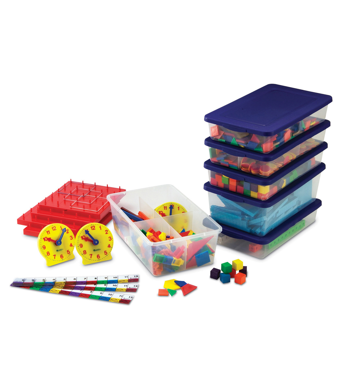 Grades 1???2 Manipulatives Kit-Photo-illustrated Lessons with Math