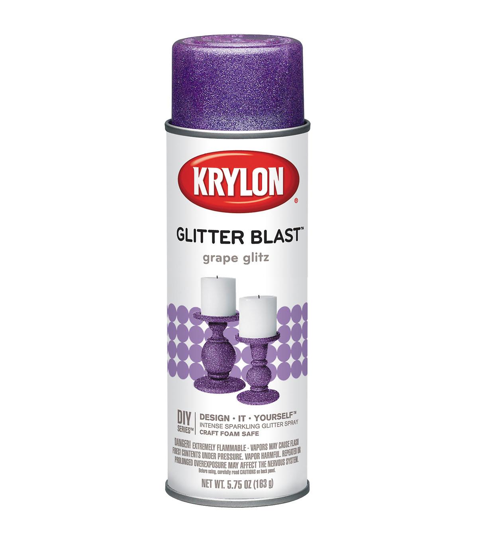 Krylon Glitter Blast 5 75 oz  Aerosol Paint