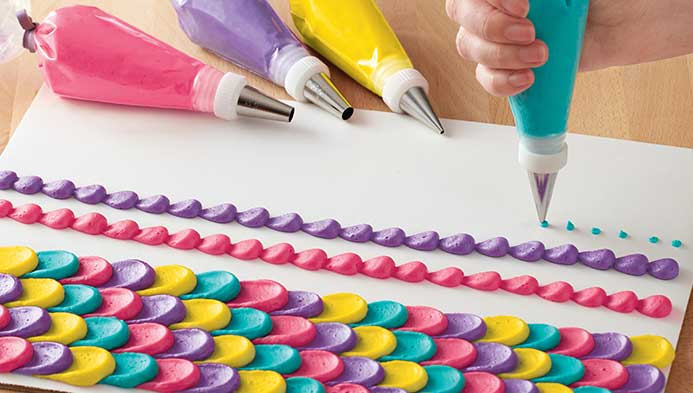 Learn To Decorate with Frosting for Kids
