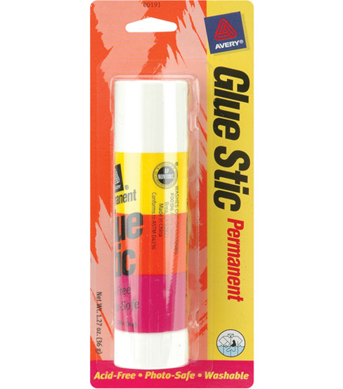 Avery 1.27 oz. Glue Stick-1PK/Permanent