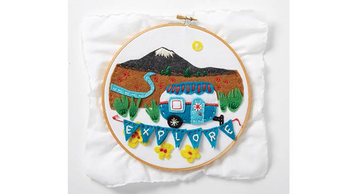 Felt Embroidery