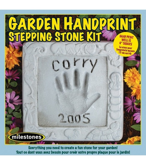 Garden Handprint Stepping Stone Kit