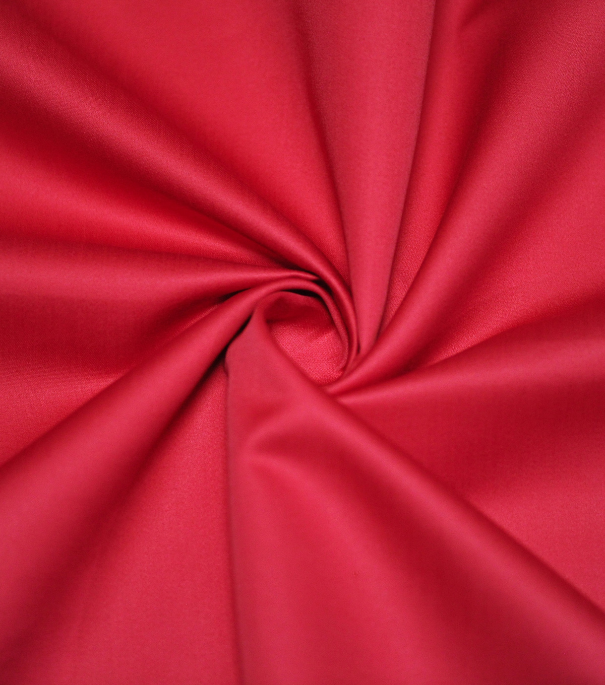 Supima Sateen Cotton Fabric-Solids, Lipstick Red