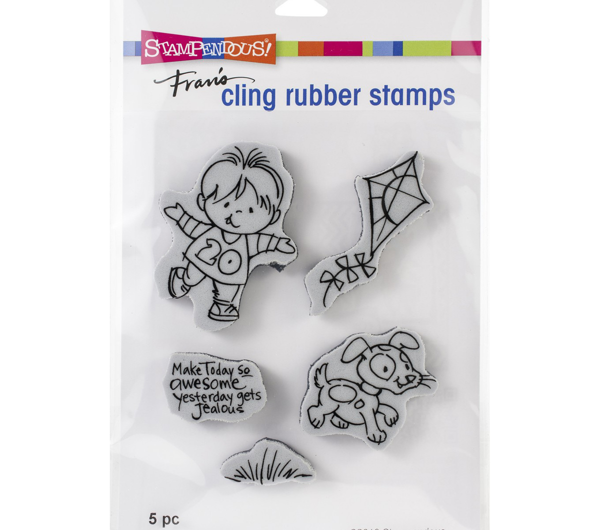 Stampendous Cling Stamp-Puppy Boy
