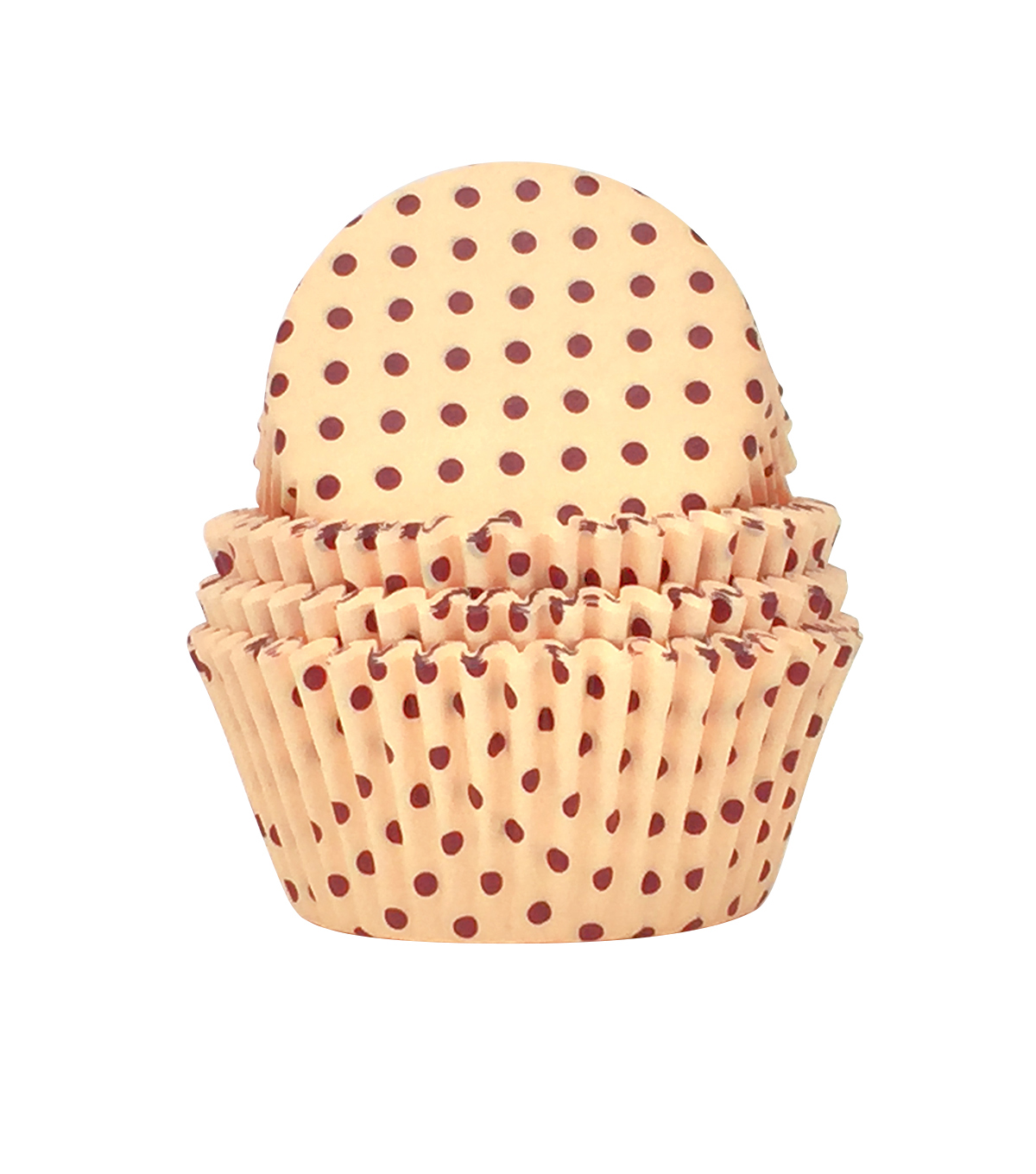 Simply Autumn 75 pk Baking Cups-Dots