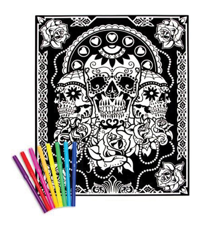 Darice Color-In 16\'\'x20\'\' Velvet Posters - Various Styles   JOANN