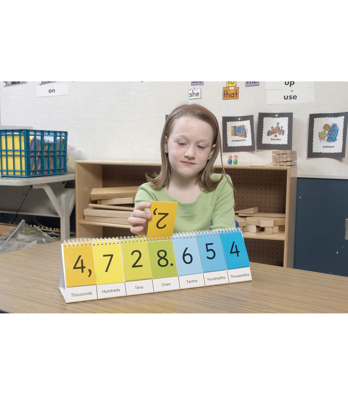 Didax Place Value Flip Stand