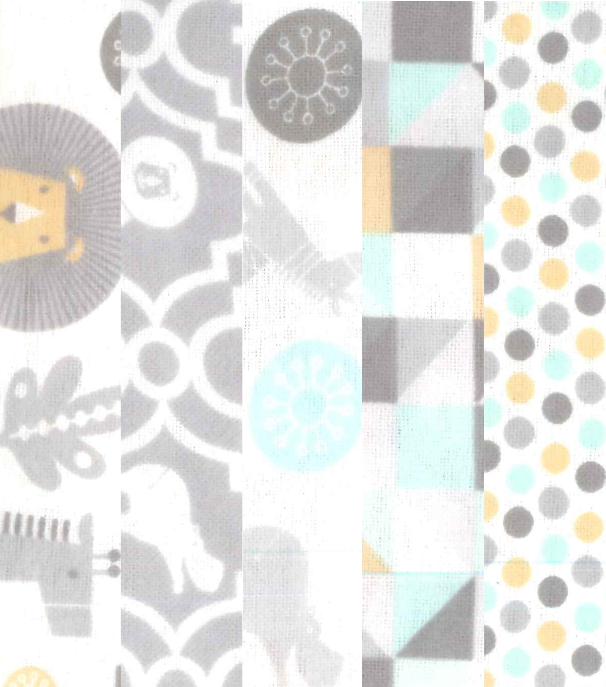 Fat Quarter Bundle Cotton Flannel Fabric 18\u0027\u0027-Safari & Animals