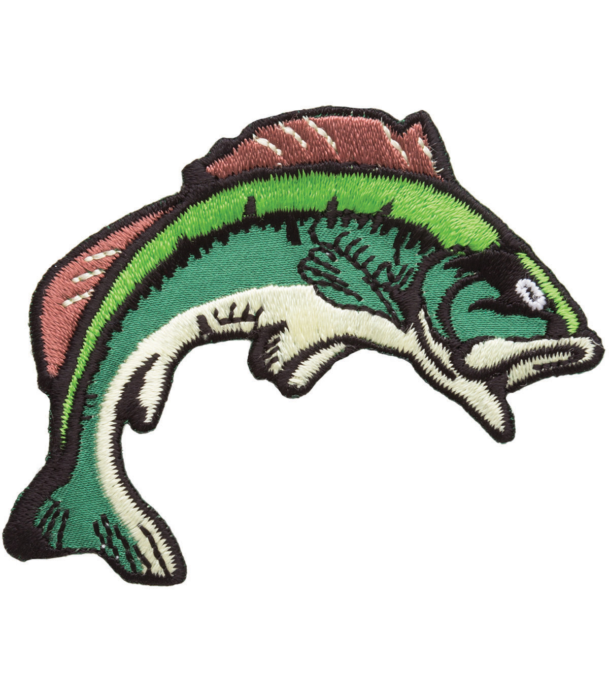 Simplicity® Iron-On Applique-Bass Fish