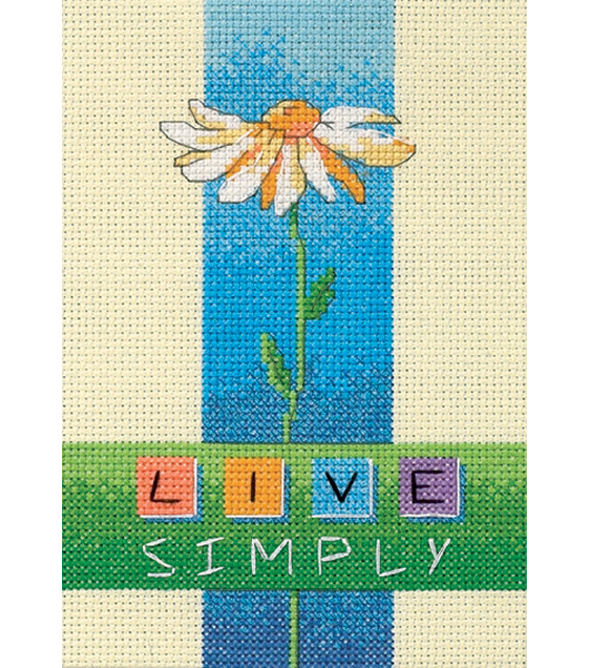 Dimensions Live Simply Mini Counted Cross Stitch Kit