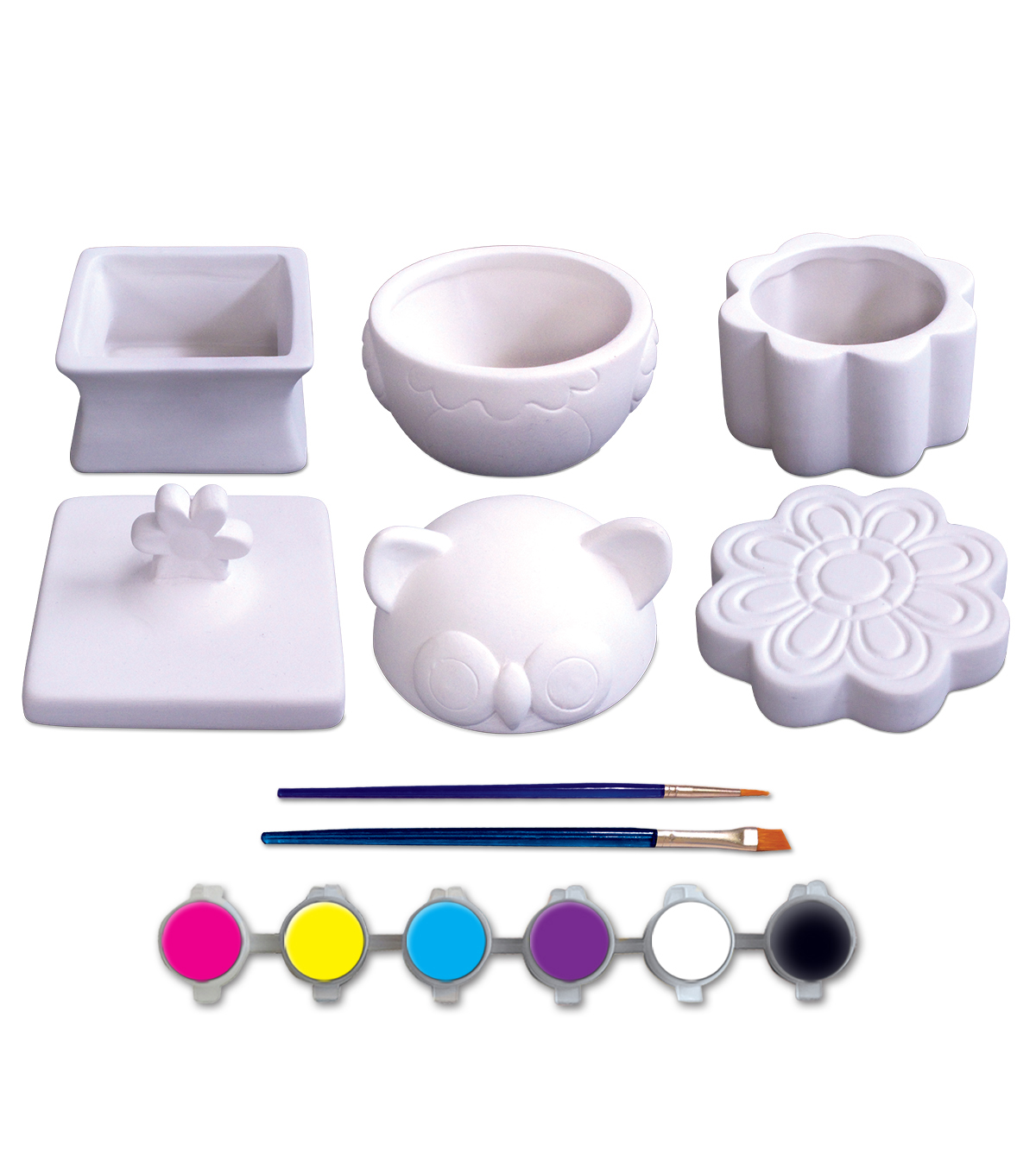 Craft EZ Oven-Porcelain Trinket Boxes