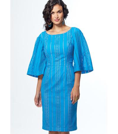 Vogue Pattern V9239 Misses Princess Seam Dresses Size 14 16 18 20