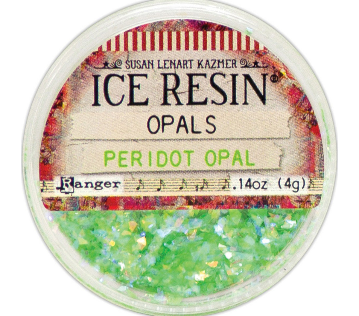 Ice Resin Opals-Peridot