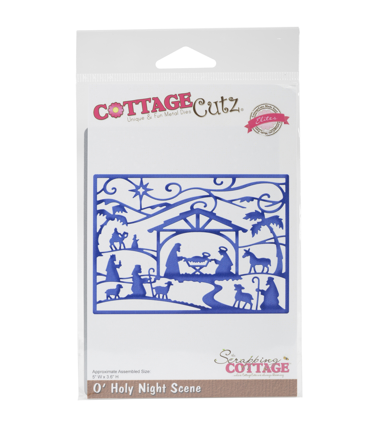 CottageCutz Elites Die-O\u0027Holy Night Scene