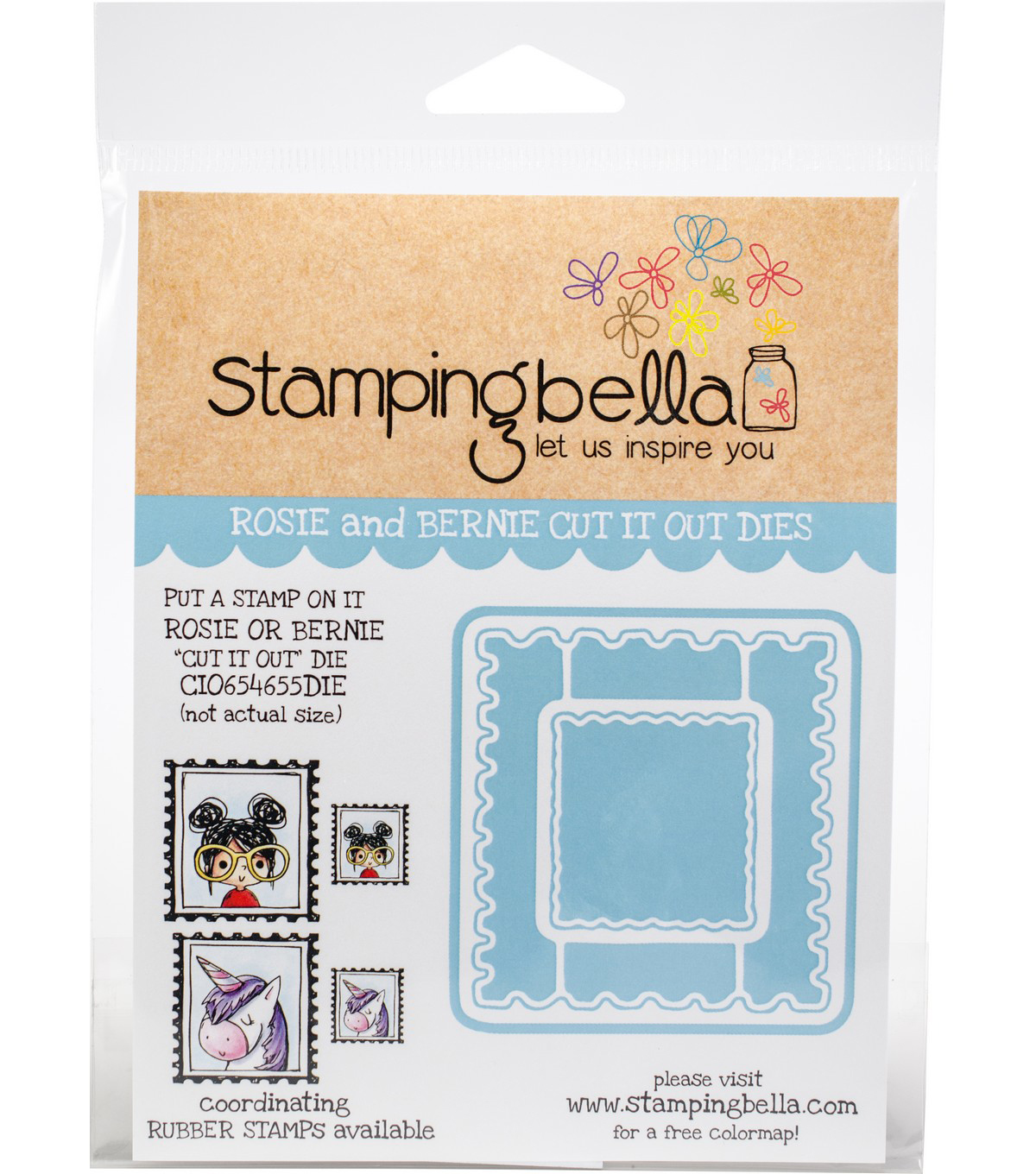 Stamping Bella Cut It Out S Put A Stamp On Rosie Bernie