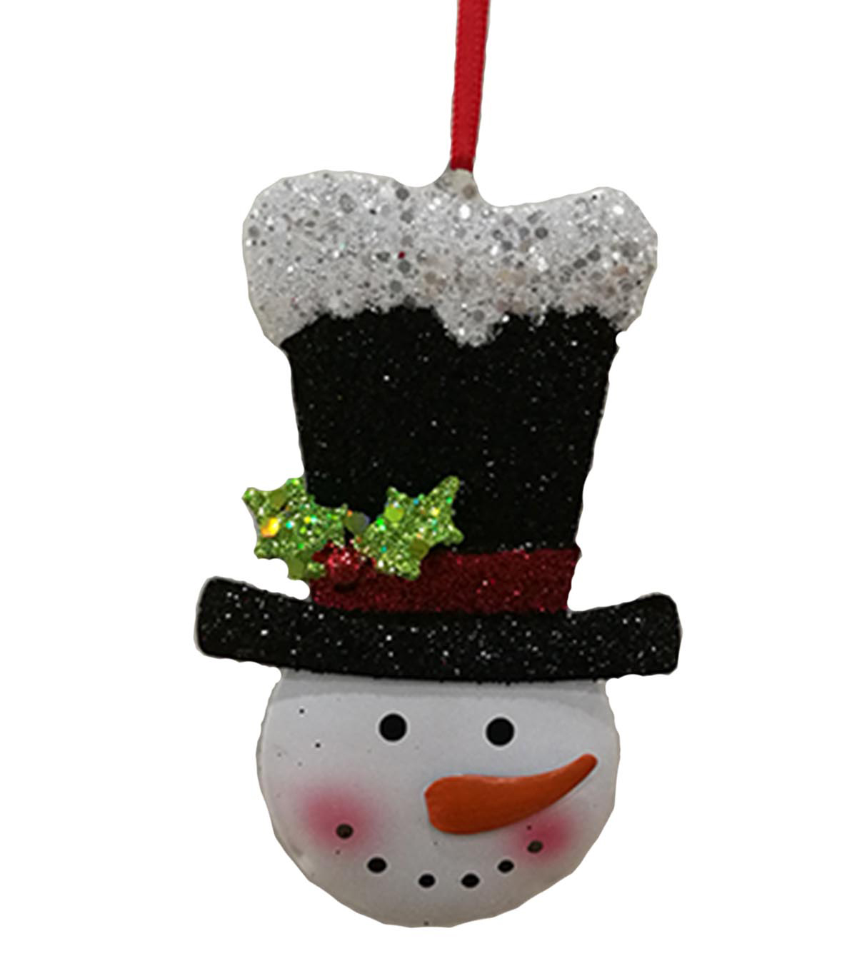 Christmas Top Hat Ornaments.Maker S Holiday Christmas Whimsy Workshop Snowman With Top Hat Ornament