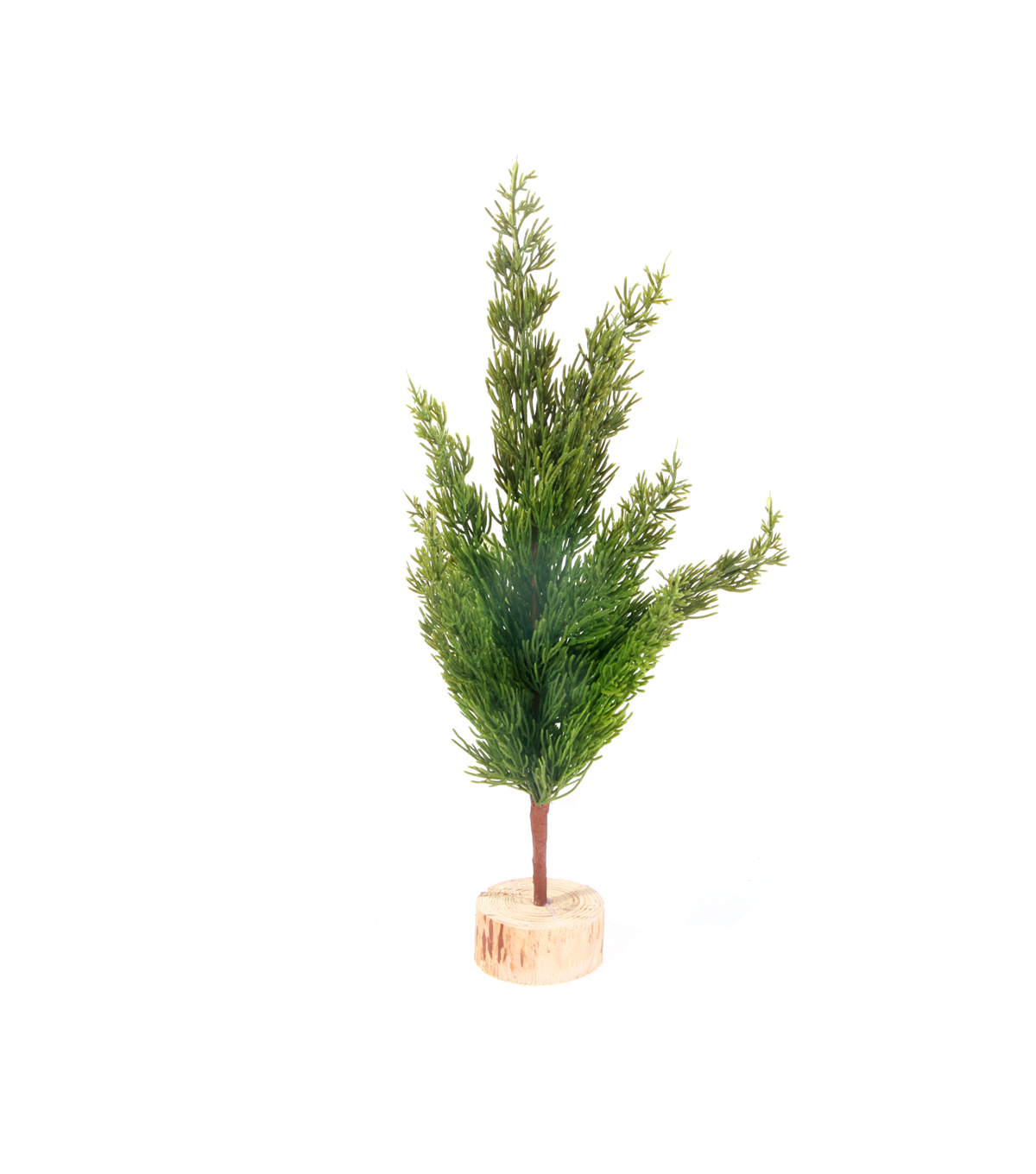 Handmade Holiday Christmas Small Primitive Pine Tree