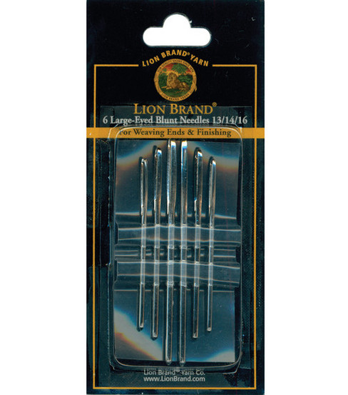 Large-Eye Blunt End Needles-6/Pkg
