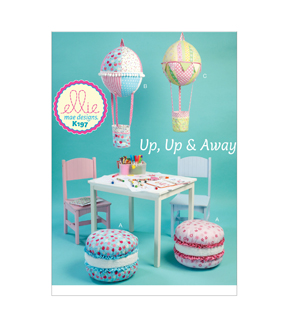 Kwik Sew Cushion & Hot Air Balloon Decorations-K0197