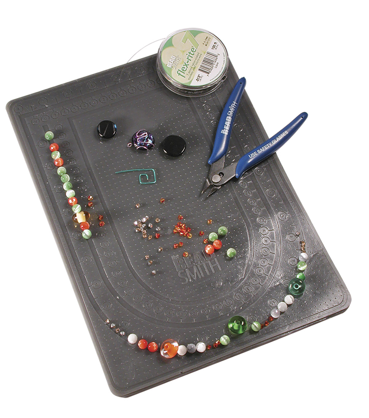 The Beadsmith Extra Large Double-sided Sticky Bead Mat