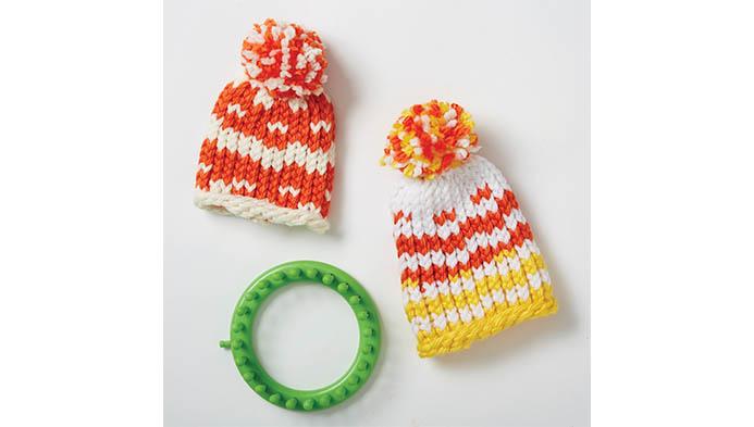 Design Knitting On A Loom