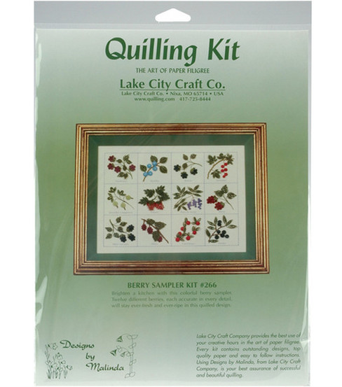 Quilling Kit-12PC/Berry Sampler