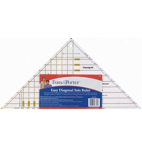 Fons & Porter Easy Diagonal Sets Ruler
