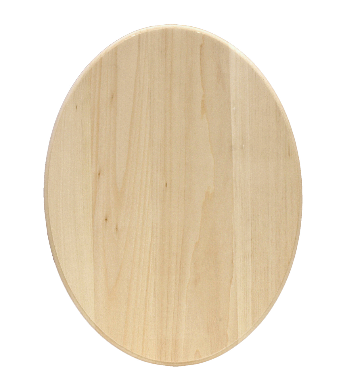 Basswood Oval Plaque-11\u0022X14\u0022