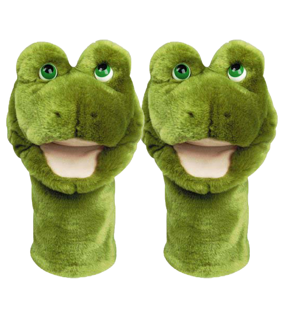 Frog Bigmouth Puppet, Pack of 2