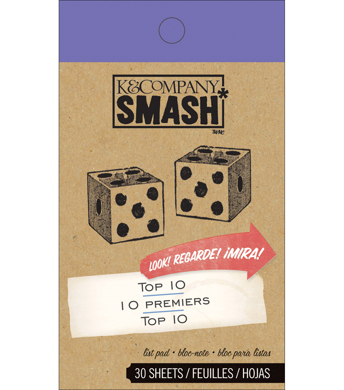 Top 10 SMASH Pad-30 Sheets