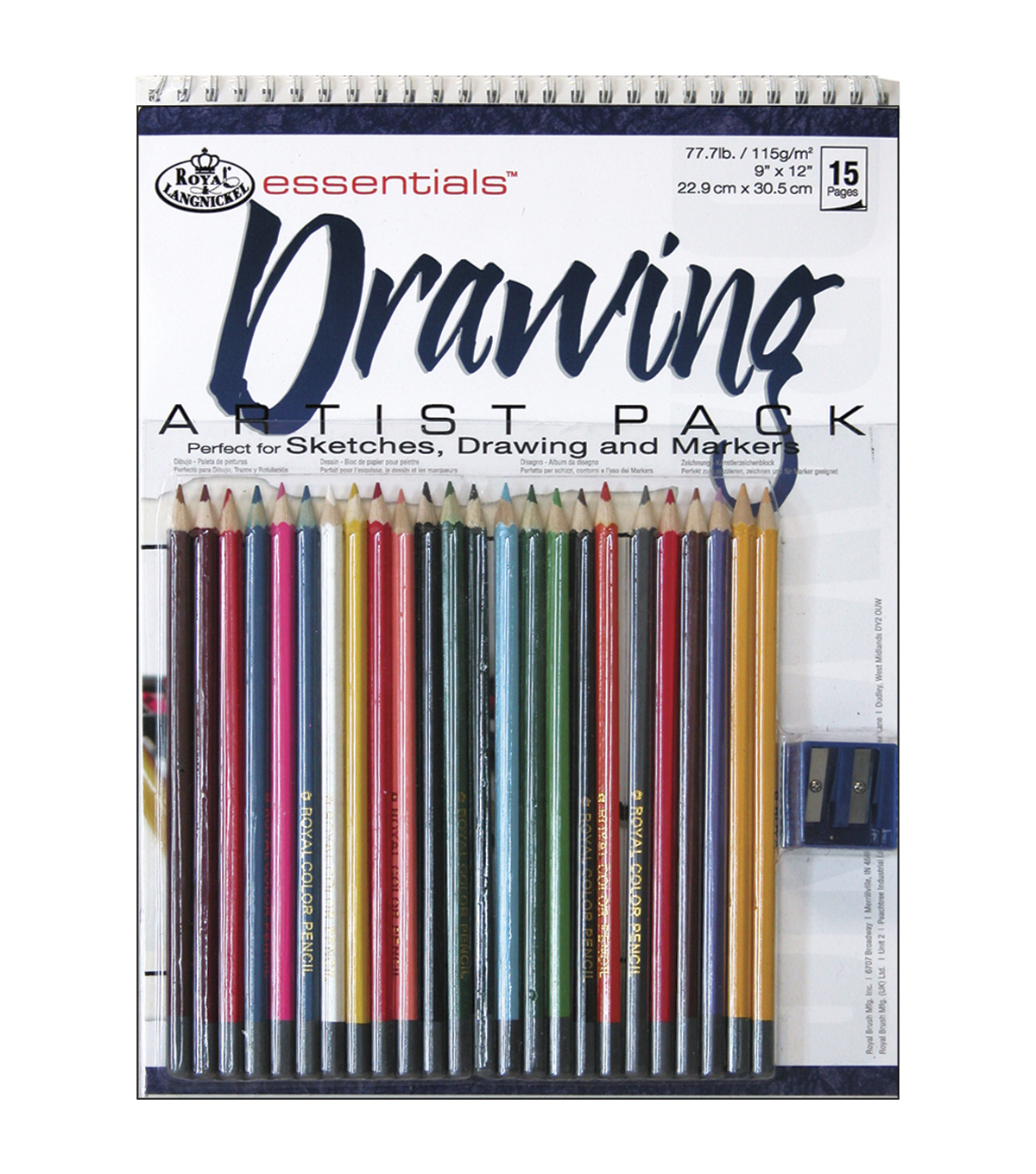 Royal Brush Essentials Artist Pack-Drawing