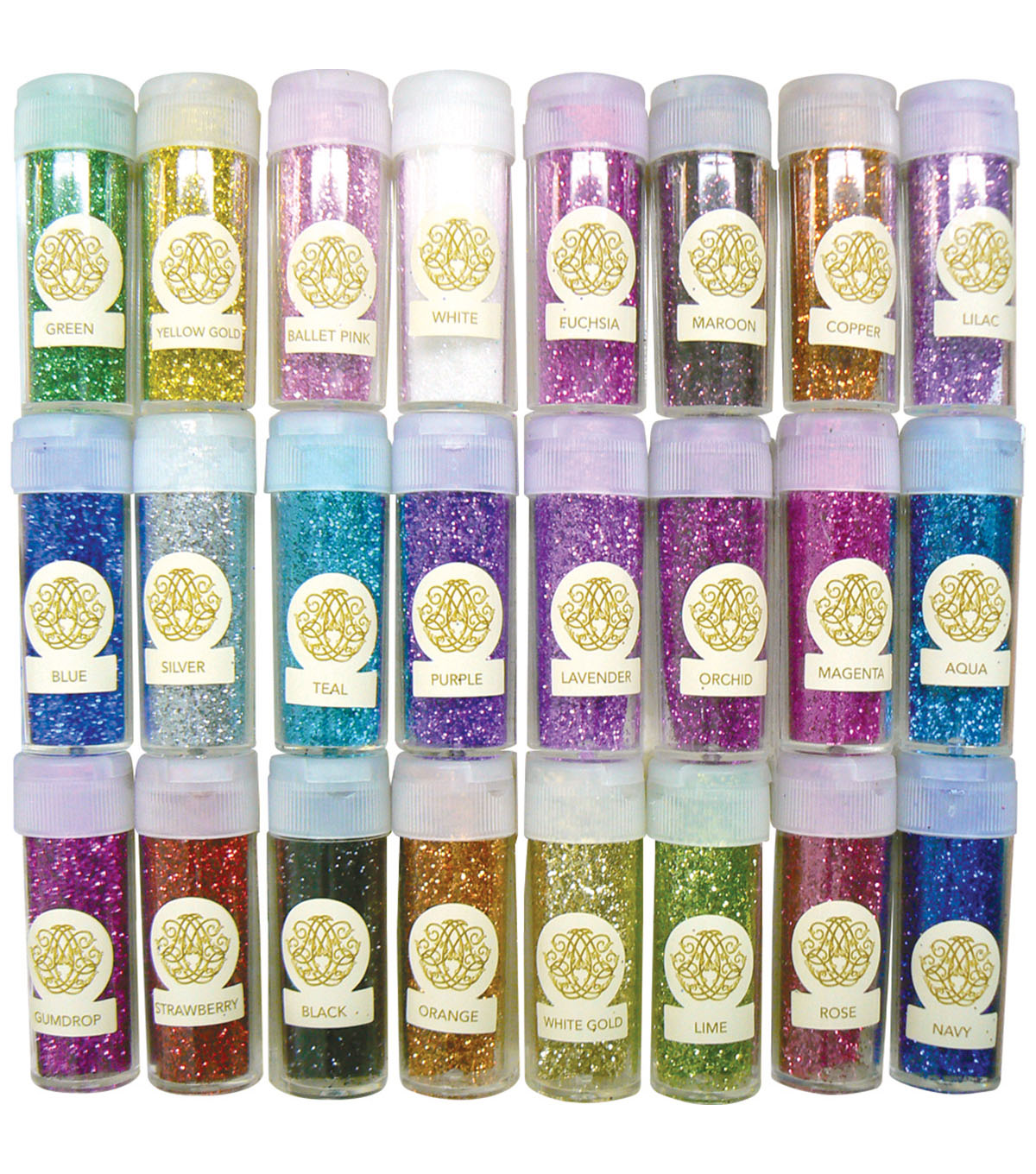 Couture Creations Anna Griffin 24 pk Fine Glitter Collection
