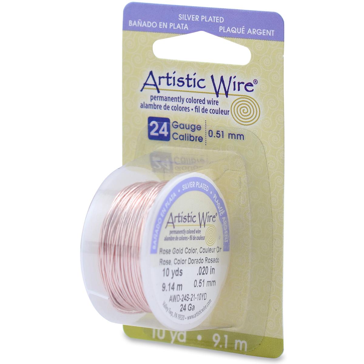 Artistic Wire 24 Gauge Copper Wire 10yd Joann